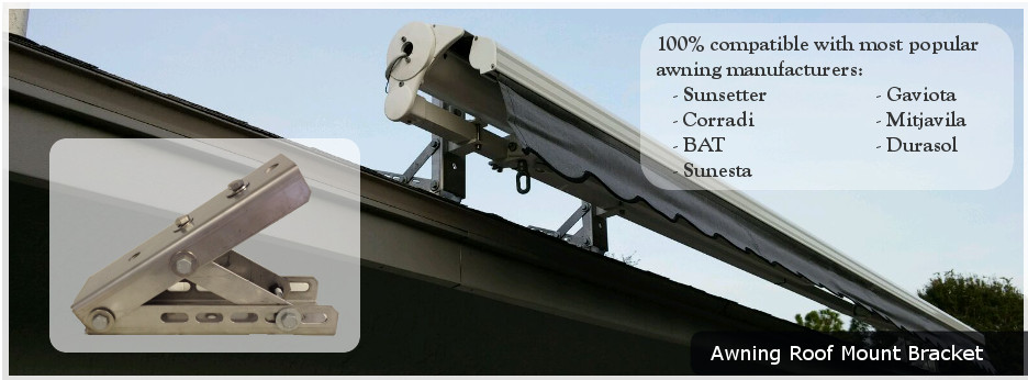 Awning Roof Mount Bracket